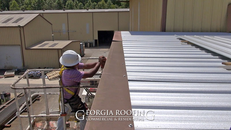 industrial metal roofing company winder ga