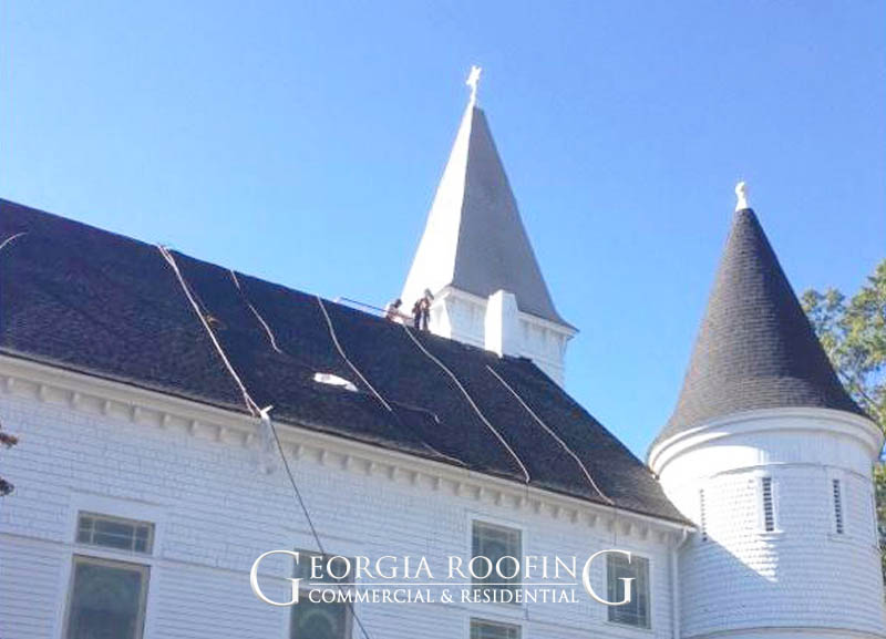 roofing company for churches winder ga